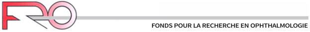 FRO - Fonds pour la Recherche en Ophthalmologie